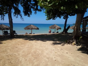 Beach Time in Jamaica